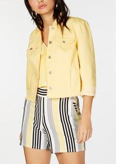 INC International Concepts I.n.c. Raw-Hem Denim Jacket, Created for Macy's