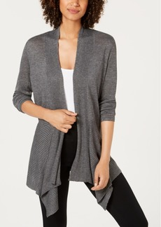 INC International Concepts Inc Ribbed Cozy Cardigan, Created for Macy's