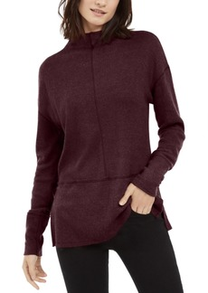 INC International Concepts Inc Ribbed Funnel-Neck Top, Created For Macy's