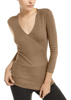 INC International Concepts Inc Long Sleeve Ribbed Top, Created for Macy's