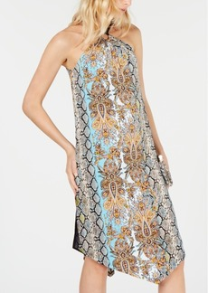 INC International Concepts Inc Ring-Neck Halter Dress, Created for Macy's