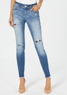 INC International Concepts I.n.c. Ripped & Repaired Skinny Jeans, Created for Macy's