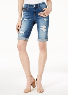 INC International Concepts I.n.c. Ripped Bermuda Shorts, Created for Macy's