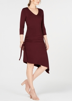 INC International Concepts I.n.c. Ruched Asymmetrical Dress, Created for Macy's