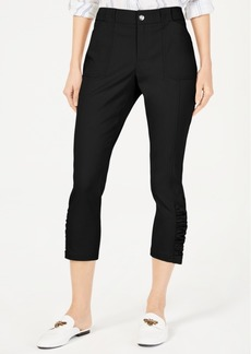 INC International Concepts I.n.c. Ruched-Hem Cropped Pants, Created for Macy's
