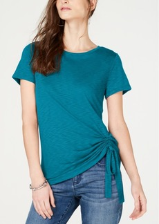 INC International Concepts I.n.c. Ruched T-Shirt, Created for Macy's