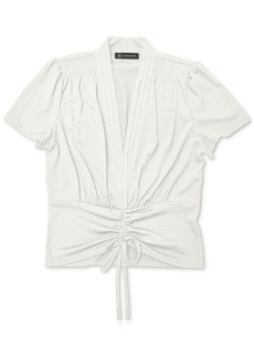 INC International Concepts Inc Ruched Top, Created for Macy's