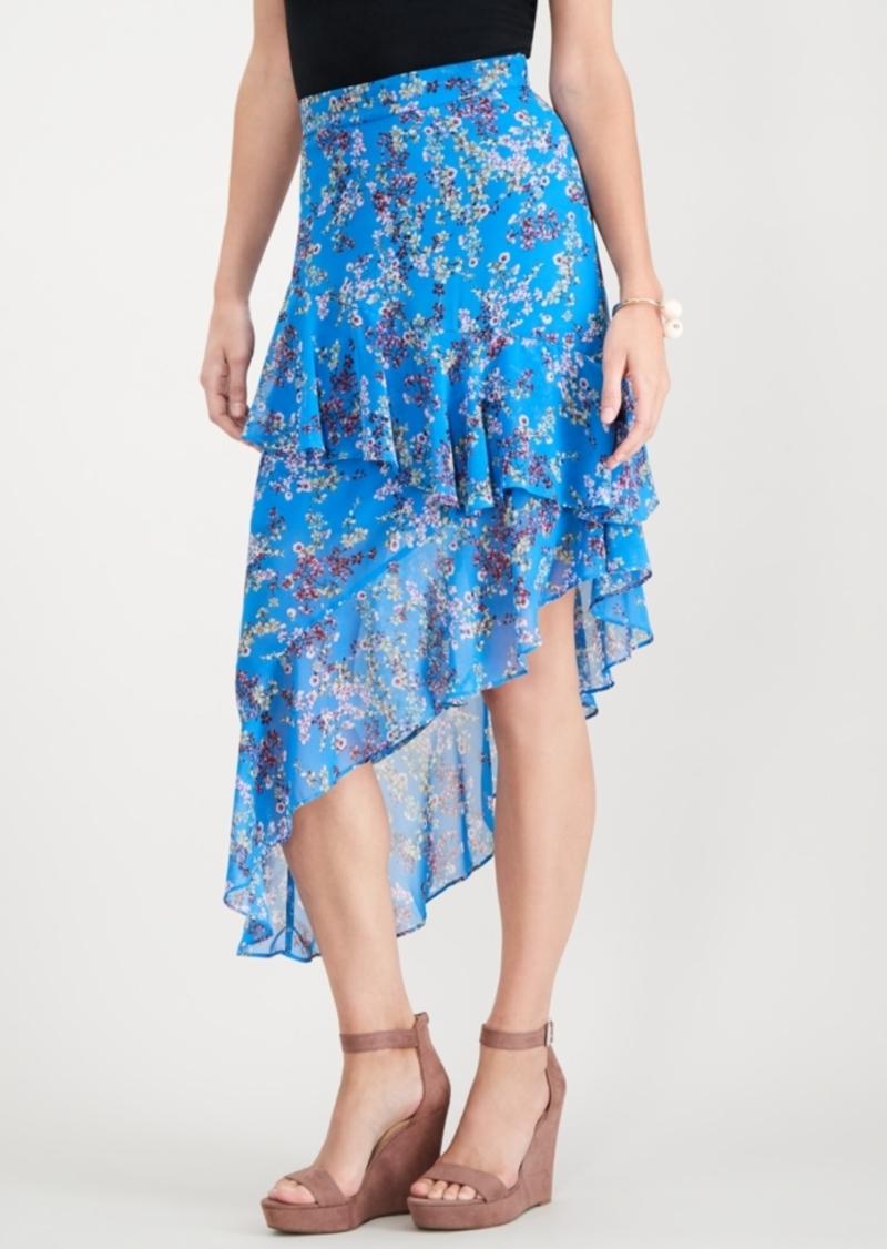 6d5a2ab04 I.n.c. Ruffle Asymmetrical Maxi Skirt, Created for Macy's. INC  International Concepts