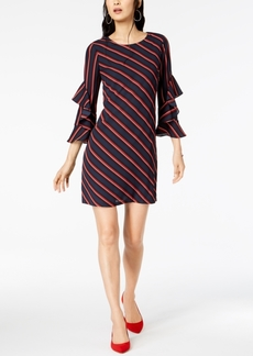 INC International Concepts I.n.c. Ruffled-Sleeve Shift Dress, Created for Macy's