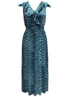 INC International Concepts Inc Ruffled Surplice Maxi Dress, Created for Macy's