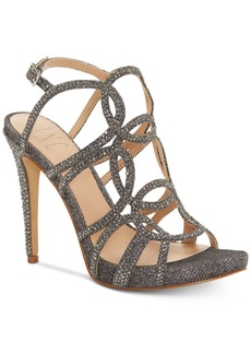 INC International Concepts Inc Sahvi Caged Bling Evening Sandals, Created for Macy's Women's Shoes