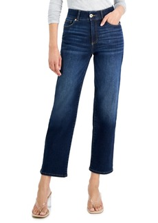 INC International Concepts Inc Sculpting-Fit Straight-Leg Jeans, Created for Macy's