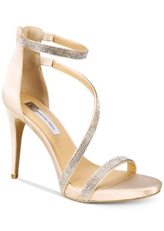 INC International Concepts I.n.c. Senaraa Strappy Dress Sandals, Created For Macy's Women's Shoes