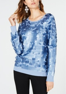 INC International Concepts I.n.c. Sequined Sweater, Created for Macy's