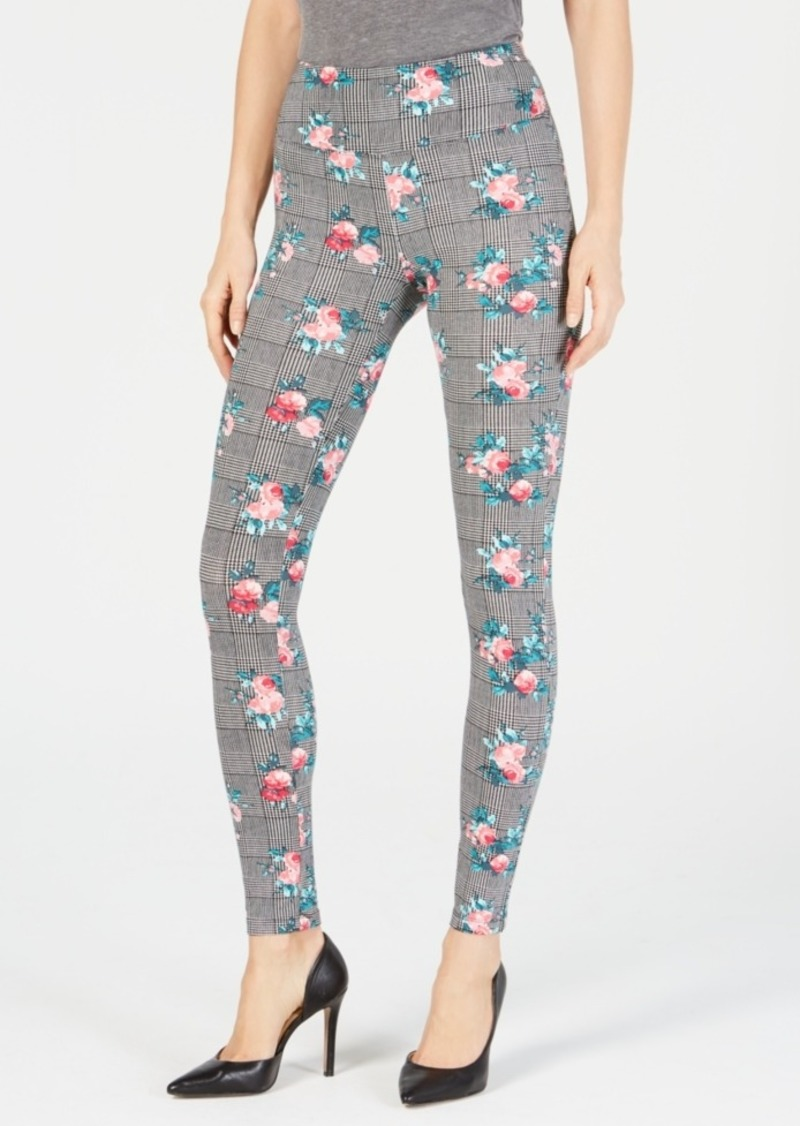 INC International Concepts Inc Shaping Printed Leggings, Created for Macy's
