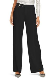 INC International Concepts Inc Side-Belt Wide-Leg Pants, Created for Macy's