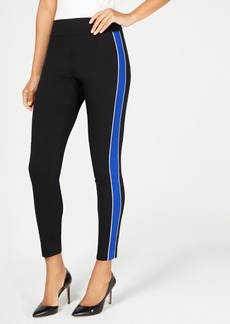 INC International Concepts I.n.c. Side-Stripe Skinny Pants, Created for Macy's