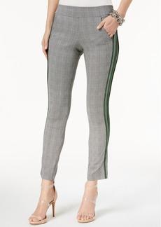 INC International Concepts I.n.c. Side-Stripe Straight-Leg Pants, Created for Macy's