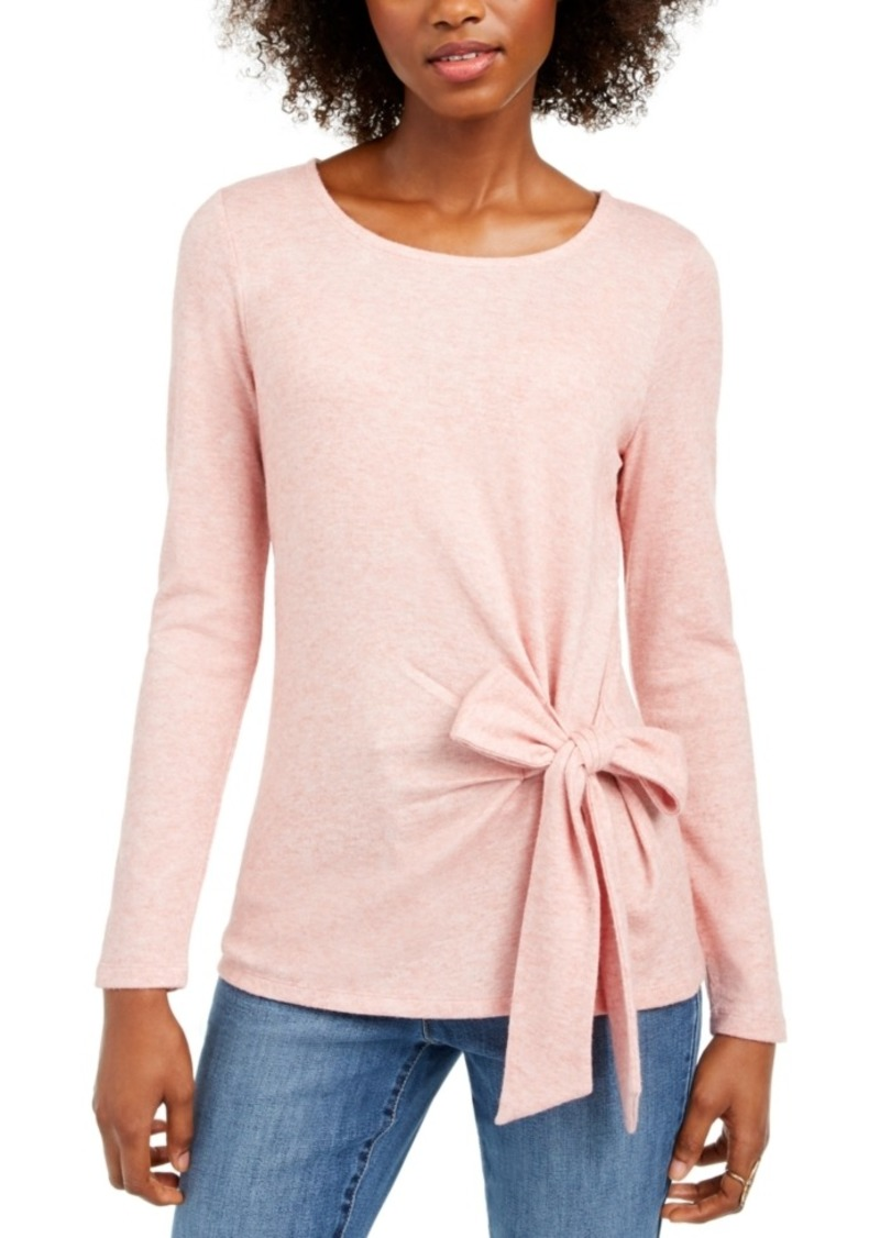 INC International Concepts I.n.c. Side-Tie Top, Created For Macy's