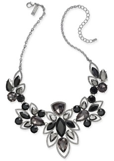 """INC International Concepts I.n.c. Crystal & Stone Statement Necklace, 16"""" + 3"""" Extender, Created for Macy's"""