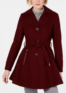 INC International Concepts Inc Skirted Walker Coat, Created for Macy's
