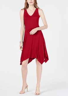 INC International Concepts Inc Sleeveless Asymmetrical-Hem Dress, Created for Macy's