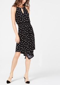 INC International Concepts I.n.c. Sleeveless Printed Handkerchief-Hem Dress, Created for Macy's