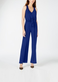 INC International Concepts I.n.c. Sleeveless Tie-Waist Jumpsuit, Created for Macy's
