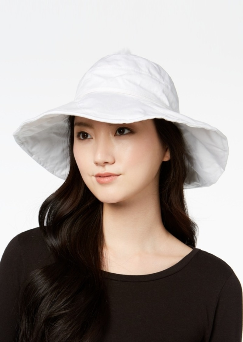 0ca3e8a233102 INC International Concepts I.n.c. Solid Floppy Packable Hat