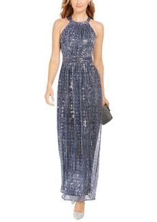 INC International Concepts Inc Sparkle Halter Dress, Created For Macy's