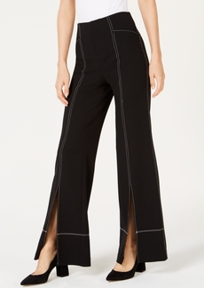 INC International Concepts Inc Split Wide-Leg Pants, Created for Macy's