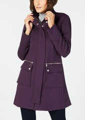 INC International Concepts I.n.c. Stand-Collar Knit Coat, Created for Macy's