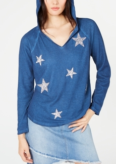 INC International Concepts I.n.c. Star-Detail Hoodie, Created for Macy's