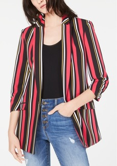 INC International Concepts Inc Striped Blazer, Created for Macy's