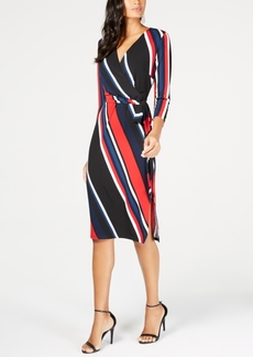 INC International Concepts I.n.c. Petite Slit Wrap Dress, Created for Macy's