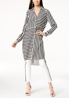 INC International Concepts I.n.c. Striped High-Low Tunic, Created for Macy's