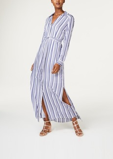 INC International Concepts I.n.c. Striped Maxi Shirtdress, Created for Macy's