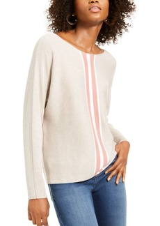 INC International Concepts Inc Striped Sweater, Created for Macy's
