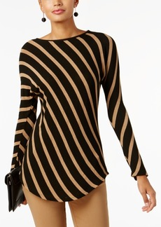 INC International Concepts Inc Striped Tunic, Created for Macy's