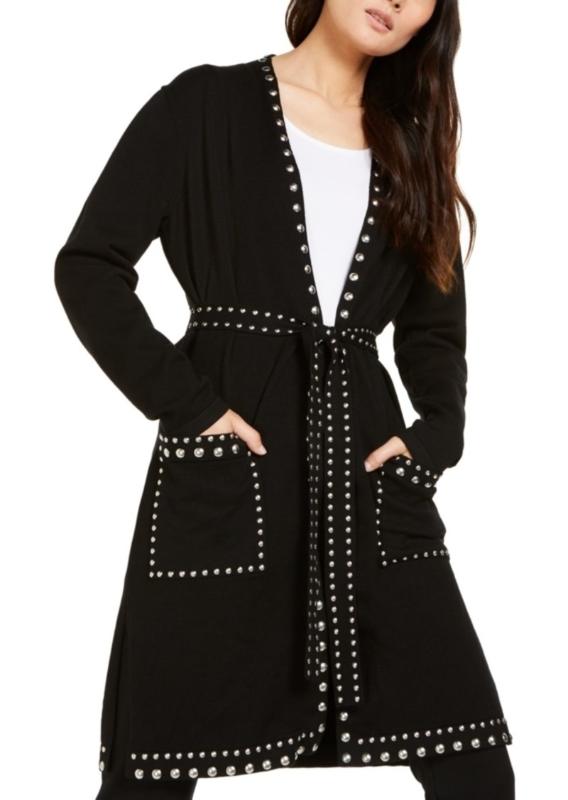 INC International Concepts Inc Studded Cardigan, Created For Macy's