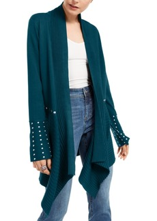 INC International Concepts Inc Studded Cardigan Sweater, Created for Macy's