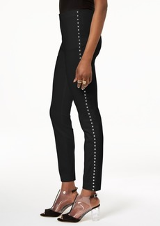 INC International Concepts Inc Curvy-Fit Studded Pull-On Skinny Pants, Created for Macy's