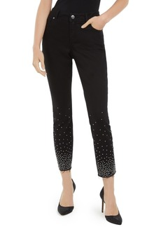 INC International Concepts Inc Studded Skinny Jeans, Created For Macy's