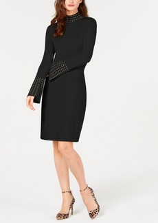 INC International Concepts I.n.c. Studded Sweater Dress, Created for Macy's