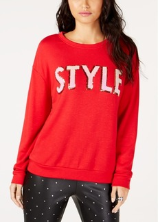 INC International Concepts I.n.c. Style Sequin Sweatshirt, Created for Macy's