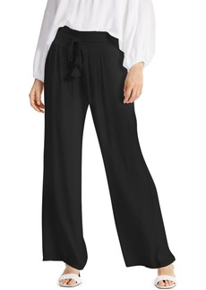 INC International Concepts Inc Textured Drawstring-Waist Pants, Created for Macy's