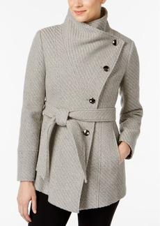 INC International Concepts I.n.c. Textured Wrap Coat, Created for Macy's