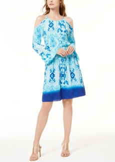 INC International Concepts Inc Tie-Dye Gauze Dress, Created for Macy's