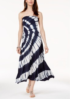 INC International Concepts I.n.c. Tie-Dyed Convertible Dress, Created for Macy's