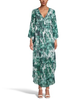 INC International Concepts Inc Tie-Dyed Maxi Dress, Created for Macy's